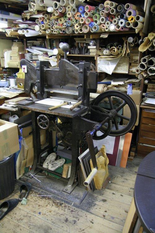 Victorian guillotine still in use